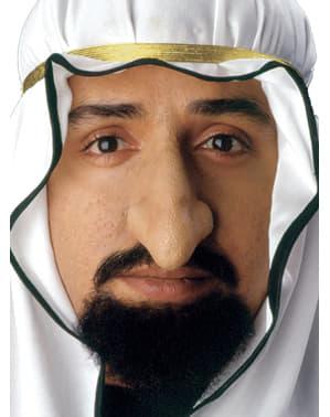Nariz de sultán de látex
