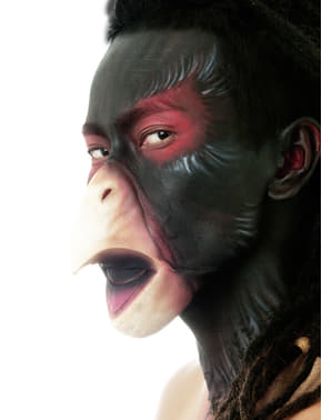 Latex savage crow beak