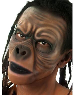 Proteza lateksowa twarz małpy