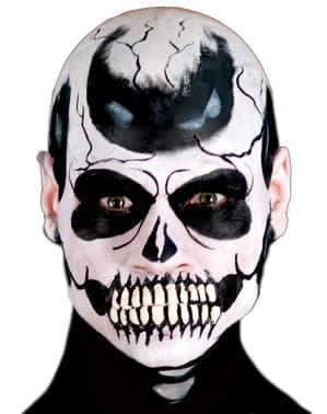 Mandíbula de esqueleto tétrico