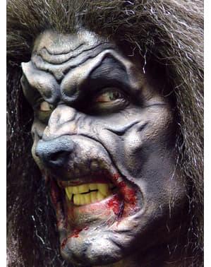 Prothèse mousse loup garou sauvage