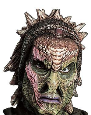 Prótesis de espuma guerrero reptiliano