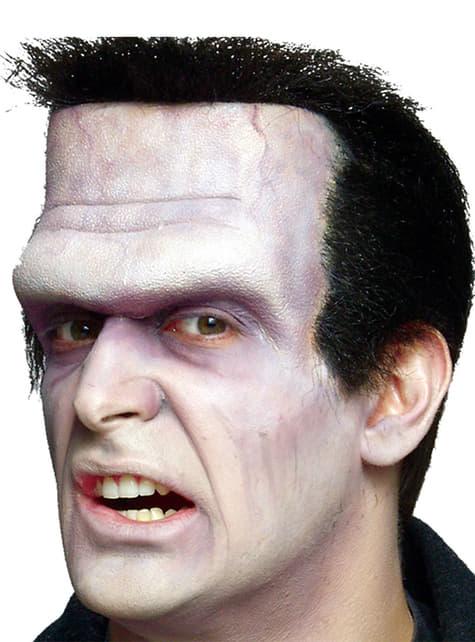 Prótesis de espuma cabeza de Frankenstein