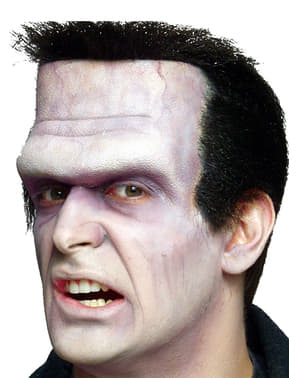 Frankenstein head foam prosthesis
