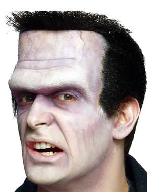 Накладка на обличчя у формі Франкенштейна