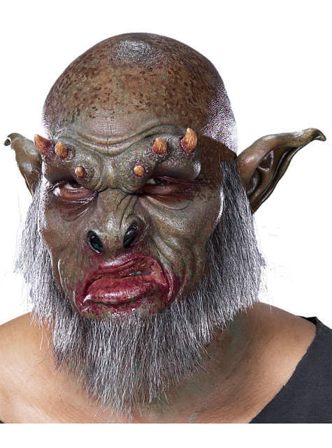 Bearded orc foam prosthesis