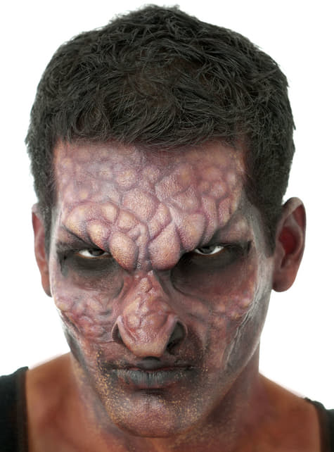 Prótesis de espuma demonio reptil Sirk
