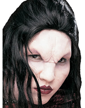 Terrifying vampiress foam prosthesis
