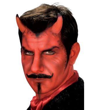 Cornos de diabo compridos