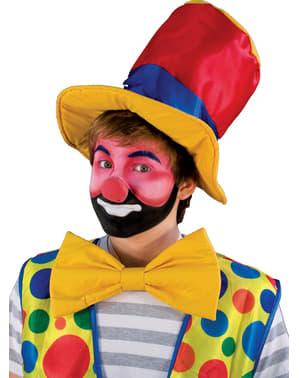 Klaunský nos barevný velký