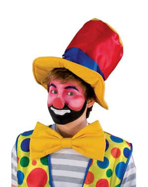 Середній різнокольоровий клоунський ніс
