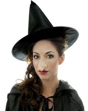 Nariz aquilino grande de bruxa feiticeira