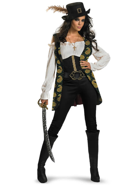 Womens Angelica Pirates of the Caribbean Costume