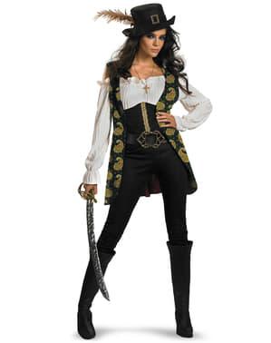 Fato de Angélica Piratas das Caraíbas para mulher