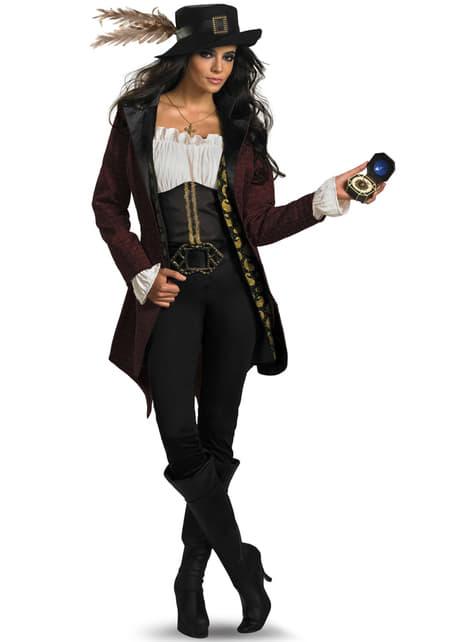 Disfraz de Angélica Piratas del Caribe deluxe para mujer