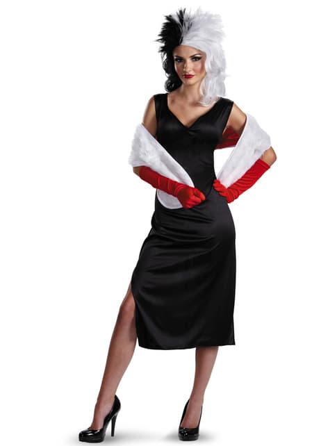 Disfraz de Cruella De Vil para mujer