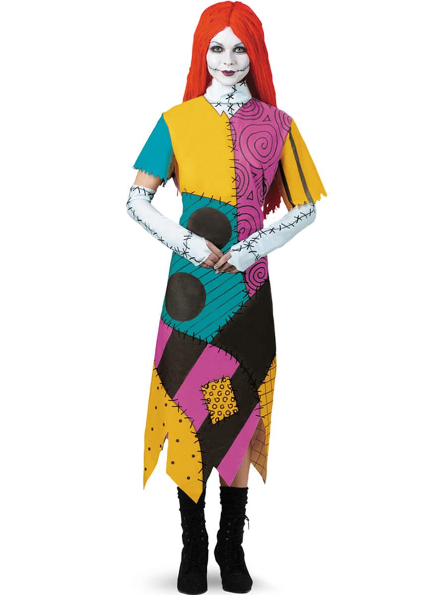 Como Disfrazarse De Sally Pesadilla Antes De Navidad - Como-hacer-disfraces-de-navidad