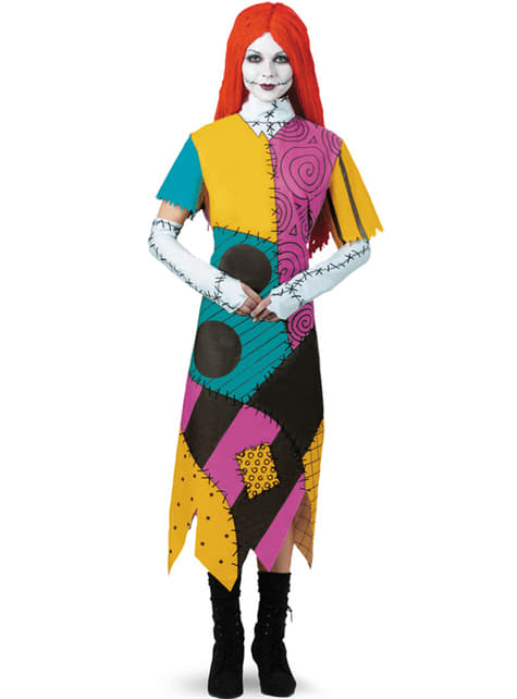 Womens Sally The Nightmare Before Christmas Costume