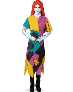 ナイトメア・ビフォア・クリスマスのサリー女性用衣装