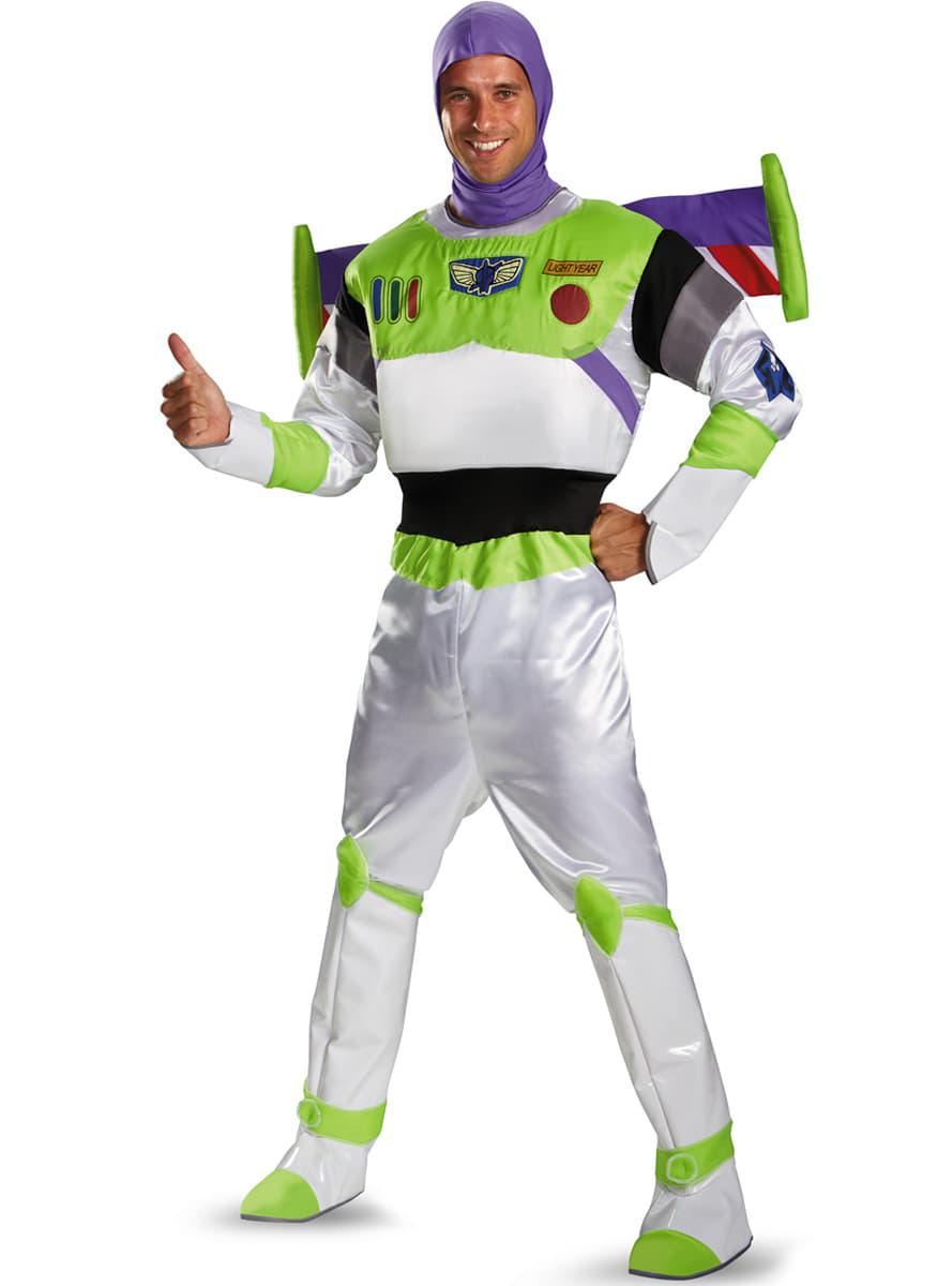 95a262b1902fd Fato de Buzz Lightyear Toy Story para adulto ...