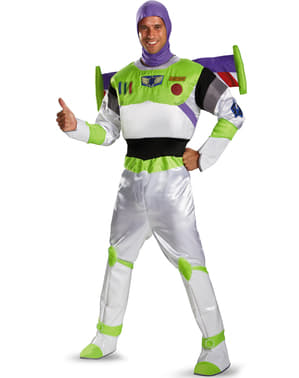 Fato de Buzz Lightyear Toy Story para adulto