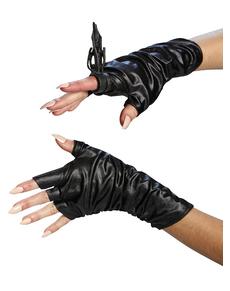 Maleficent Handskar och ring Dam