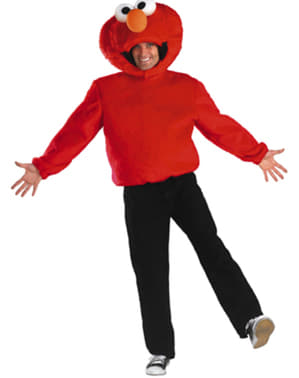 Възрастни Елмо Сезам - улична носия