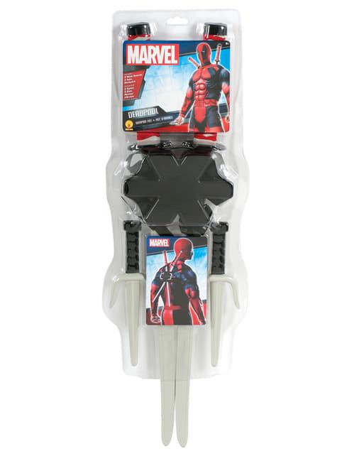 Marvel Deadpool våben sæt