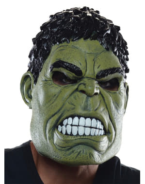 Avengers Age of Ultron 3 quarter Hulk mask for an adult