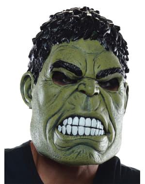 Avengers: Age of Ultron Hulk 3/4 maske til voksne