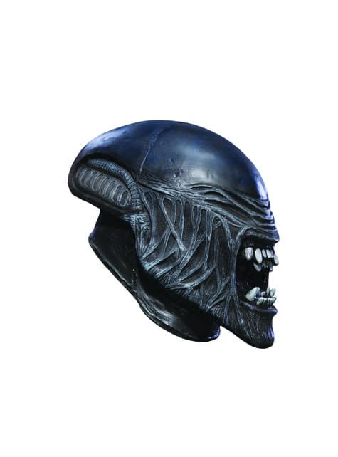 Máscara de Alien de vinilo para niño
