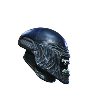 Maschera Alien in vinile bambino
