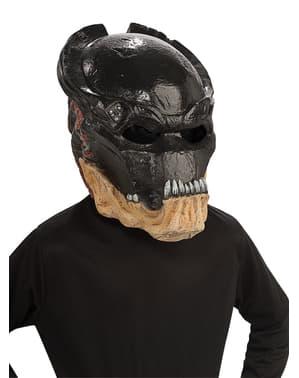 Máscara de Predador vinil para menino