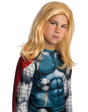 Peruca Thor Marvel para menino