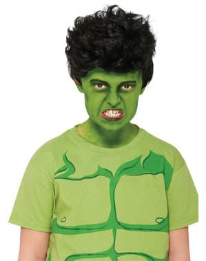 Hulk Perücke für Jungen Marvel