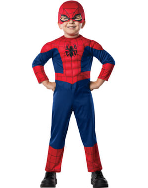 Ultimate Spiderman Deluxe maskeraddräkt för barn