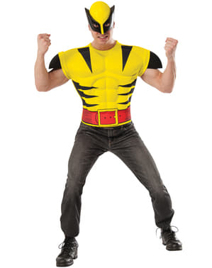 Kit costum Wolverine musculos pentru adult
