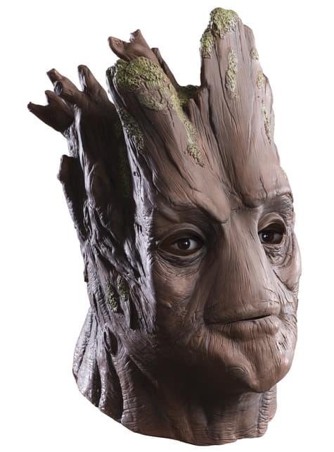 Maska pro dospělé Groot Strážci galaxie deluxe