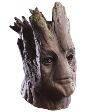 Máscara de Groot dos Guardiões da Galáxia deluxe para adulto