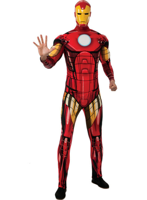 Costum Iron Man Marvel deluxe pentru adult