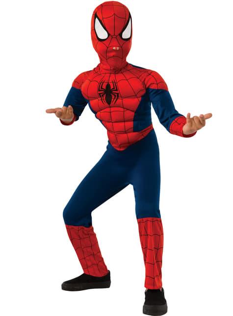 Fantasia de Ultimate Spiderman clássico para menino