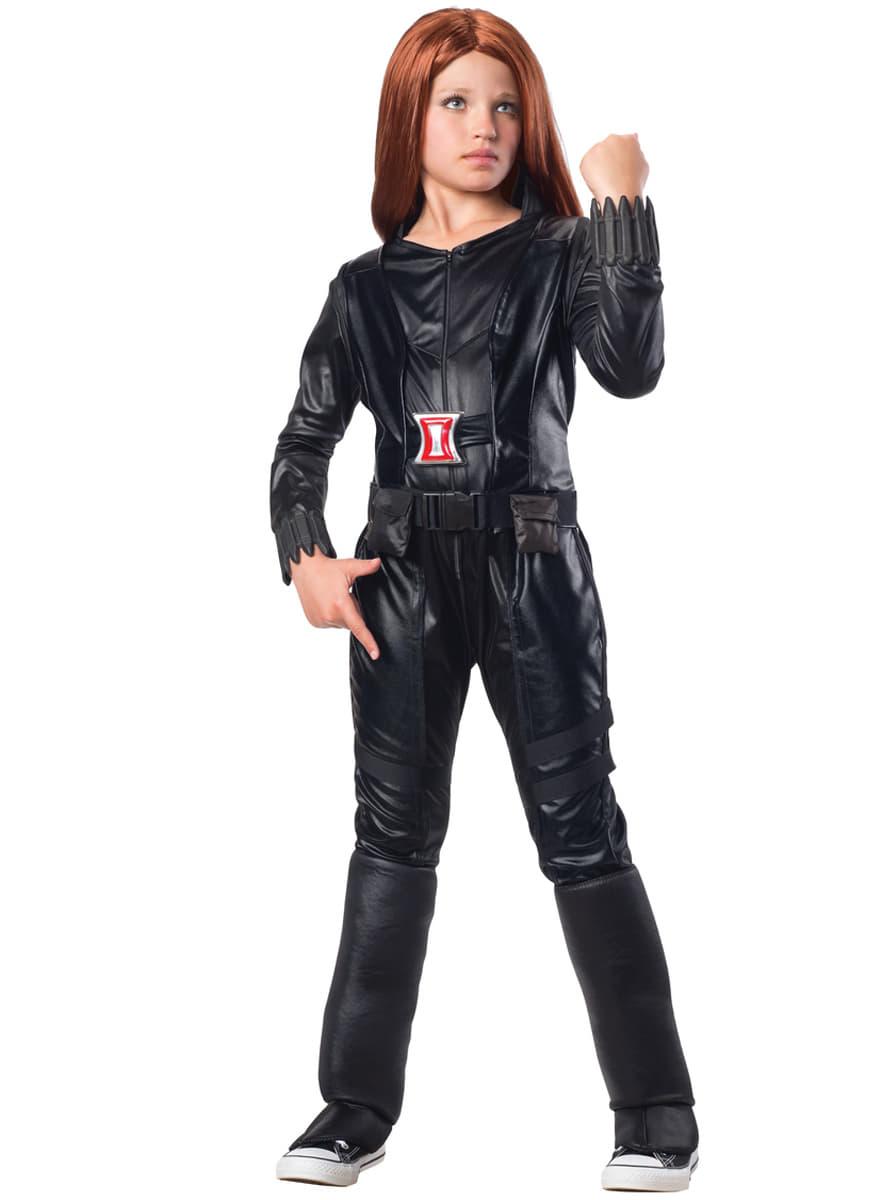 Costume veuve noire captain america le soldat de l 39 hiver fille funidelia - Captain america fille ...