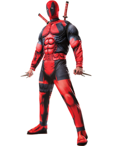 Deadpool Kostum Deluxe Marvel