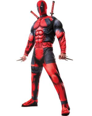 Costum Deadpool deluxe Marvel para hombre