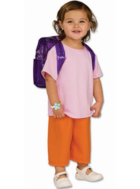 Dora die Entdeckerin Kostüm für Mädchen deluxe