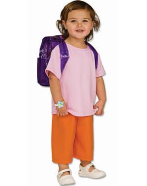 Eventyreren Dora deluxe kostyme til jente