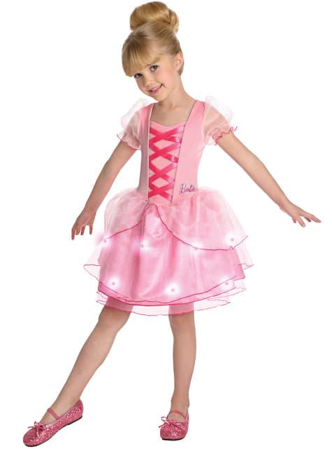 Fato de Barbie Bailarina para menina