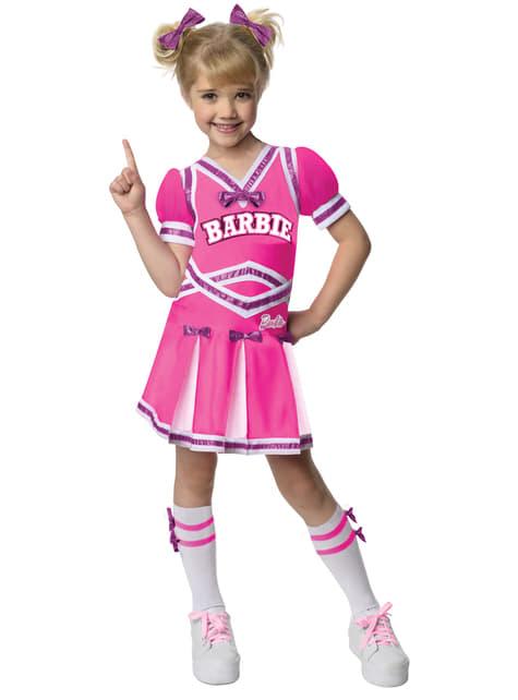 Kostium Barbie cheerleaderka dla dziewczynki