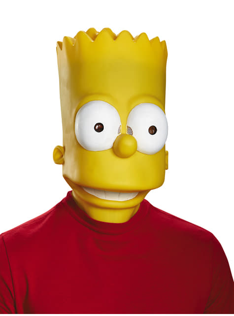 Máscara de Bart Simpson para adulto