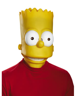 Masque Bart Simpson adulte